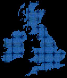 UK Dot Map NEW